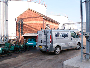 Albright Engineering Design Services - Petrochemical, processing and commercial sectors